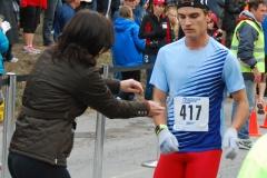 e 5K Race winner